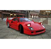 Ferrari F40 With Pop Up Headlights It Seemed To Be Just Perfect And