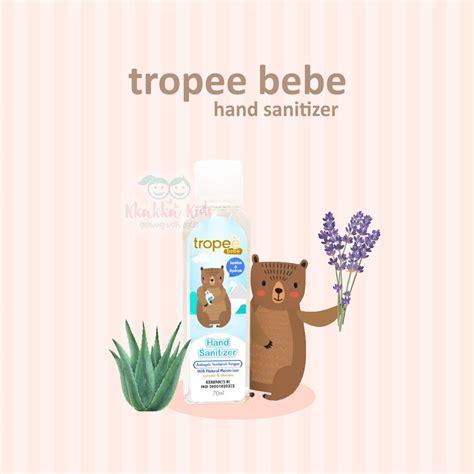 tropee bebe hand sanitizer ml handsanitizer aman  anak alkohol food grade otoginal