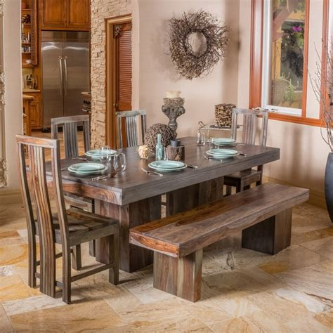 shop christopher knight home russett  grey toned dining