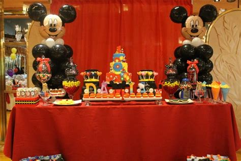 Mickey Mouse Clubhouse 1st Birthday Decorations by Mickey Mouse Clubhouse Birthday Ideas Buffet
