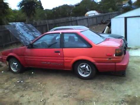 Toyota Corolla Gts For Sale 1986 Corolla Ae86 Gts For Sale