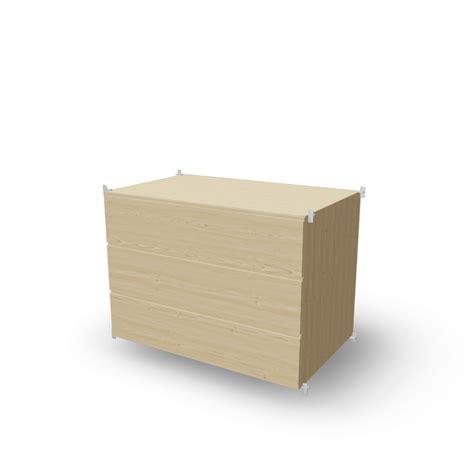 IVAR Kommode mit 3 Schubladen   Einrichten & Planen in 3D