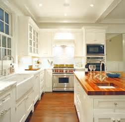 White Kitchen Cabinets With Butcher Block Countertops Butcher Block Countertops Modern Diy Designs