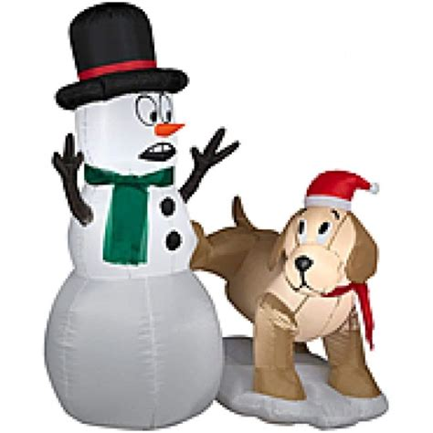 amazoncom snowman christmas snowman outdoor inflatables wikii