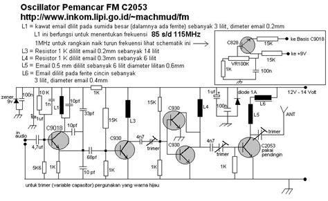 Tabung Pemancar Oscilator membuat pemancar 80 meter am fm agustomank
