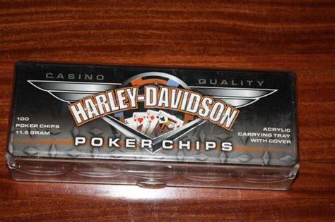 Harley Davidson Chip Set by Harley Davidson 174 Chips 100 Assorted Set 69270