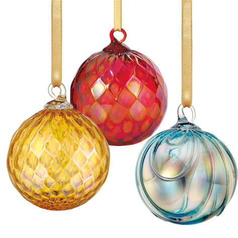 hand blown christmas ornaments christmas decore