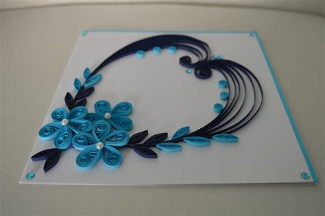 Greeting Card Using Quilling Paper - 16 best photos of quilling ideas paper