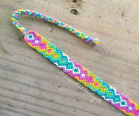 zig zag pattern friendship bracelet instructions 34 best images about diy friendship bracelets on