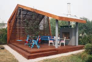 backyard pavilions modern outdoor pavilion with fireplace and ping pong table
