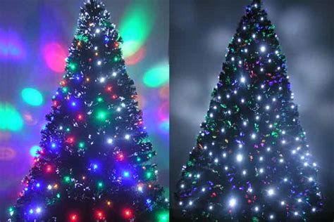 decorated fiber optic tree pre lit fiber optic trees pre lit tree