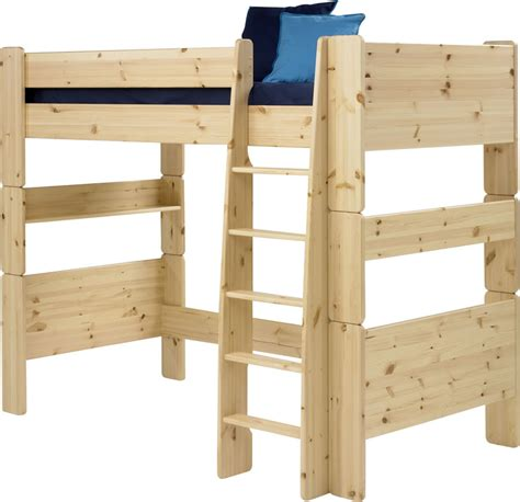 childrens high sleeper with futon pine high sleeper bed steens for kids