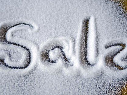 Wo Kommt Das Salz In Die Spülmaschine by Salz Sorten Welches Passt Wozu Berlin De