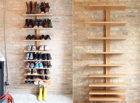 Build Shoe Rack In Closet by Build Your Own Shoe Rack Woodworking Projects Plans