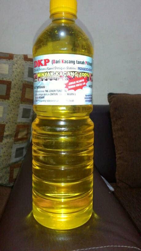 jual minyak kacang tanah kurnia sari shop
