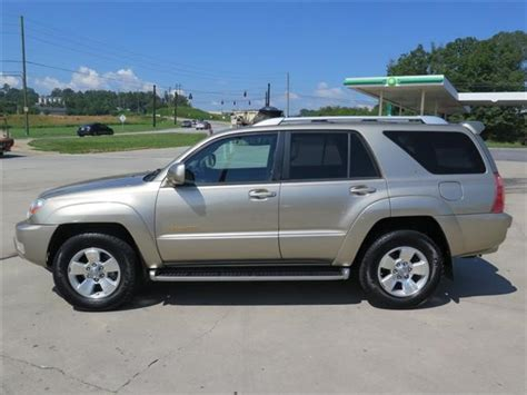 used toyota 4runner limited used 2003 toyota 4runner limited for sale in asheville