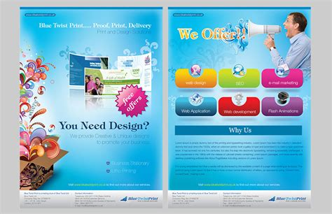 design your leaflet kid leaflet design and layout graphic design portfolio