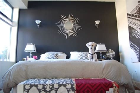 black accent wall in bedroom 25 best ideas about black accent walls on pinterest black walls cheetah print
