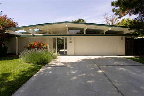 Eichler Style Home Eichler Kitchen Amp Garage Midcentury Exterior San