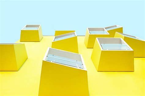 modern yellow temptations minimalist urban architecture photography