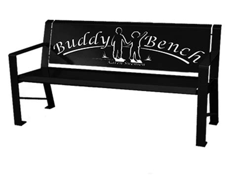 benches for schools custom buddy benches in utah superior laser cutting