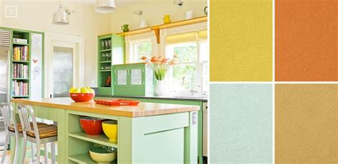 A Palette Guide For Kitchen Color Schemes Decor And Paint Interior Design Ideas For Kitchen Color Schemes