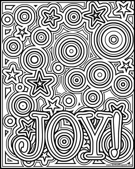 coloring pictures of joy don t eat the paste joy coloring page