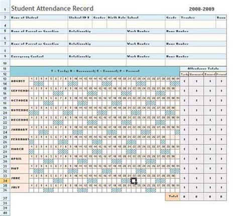Attendance Sheet Excel Template Daily Microsoft Templates Pinterest Attendance Sheet Attendance Sheet Template Excel