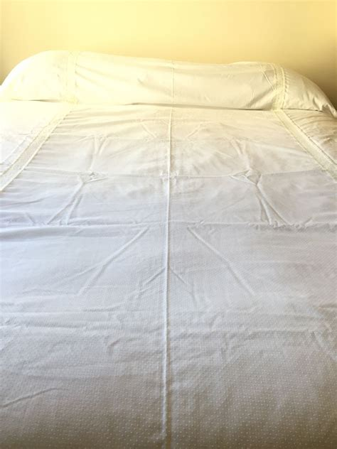 vintage coverlet vintage bedspread coverlet summer cotton dotted swiss pale