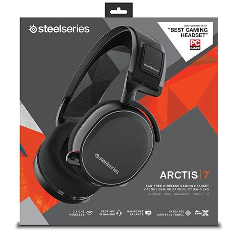 Headset Steelseries Arctis 7 steelseries arctis 7 headset black 61463 mwave au