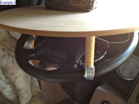 Steering Wheel Table by Rv Steering Wheel Table Mod Don T You Need Another Place