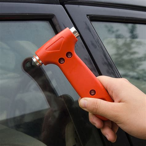 escape myself seat belt cutter and window breaker mini car safety hammer saving escape emergency hammer