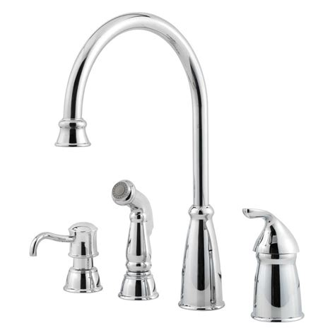 kitchen faucet supply lines pfister gt26 4cbc polished chrome avalon high arc kitchen
