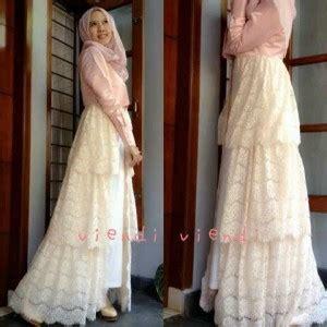 Dress Wanita Murah Ta8698bk Bonus Kalung gamis pesta brokat viendi s188 model gaun pesta muslimah remaja terbaru murah