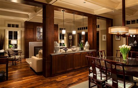 Interior design ideas living room dining room traditional with coffered ceiling dining room