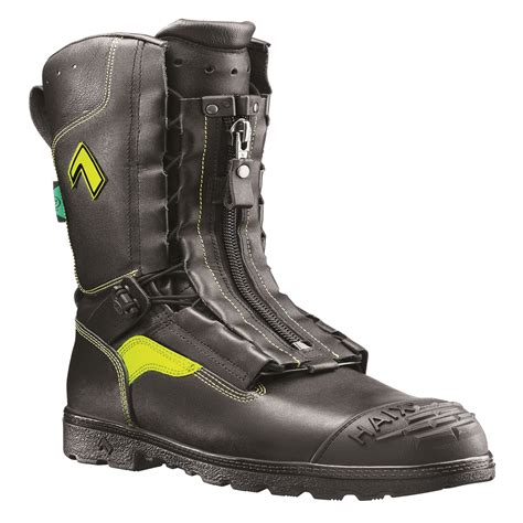 firefighting bunker boots haix 10 quot flash xtreme firefighter bunker boots