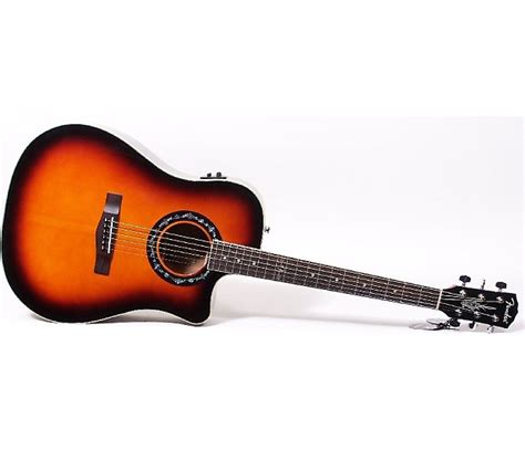 Fender T 100ce Spruce Top 3ts fender t 100 ce acoustic electric guitar 3 color reverb