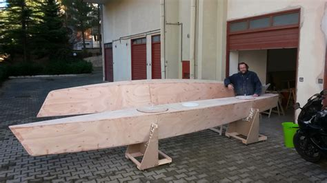 trimaran happy building a seaclipper 20 in italy happy new year