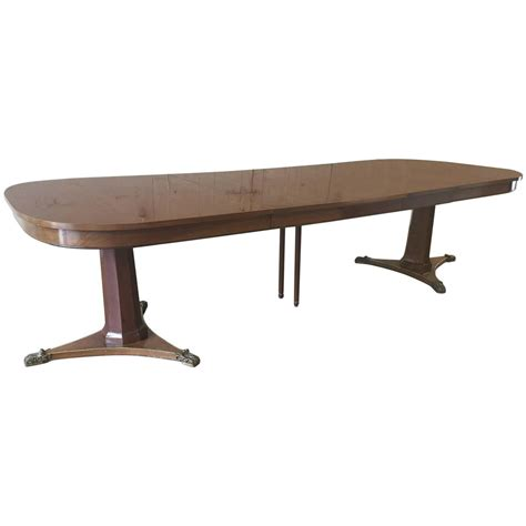Large Dining Room Table By Baker For Sale At 1stdibs Big Dining Tables For Sale