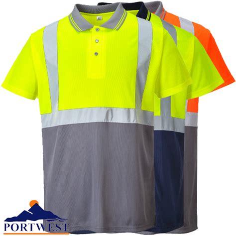 Inc Polo Shirt Two Tone Ungu two tone hi vis polo shirt s479