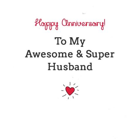 What To Write On Anniversary Card To Husband