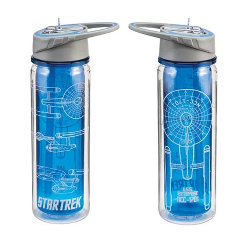 Tritan Water Bottle Botol Infus Water trek 18 oz tritan water bottle vandor trek water bottles at entertainment earth