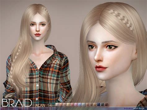 sims 4 custom content braids helen braid by s club at tsr 187 sims 4 updates