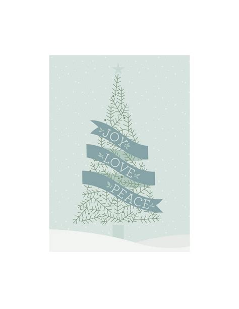 free printable christmas cards love joy love peace filler card for project life one velvet
