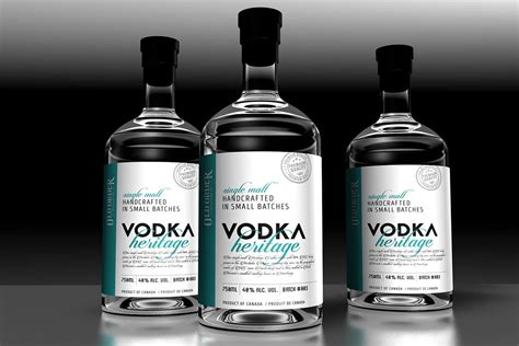 design vodka label label design vancouver vodka label design on behance