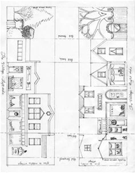 printable christmas village template 1000 images about puts with patterns on pinterest paper