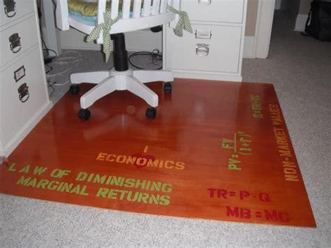 Diy Chair Mat by Diy Chair Mat Office Work Ideas Tips Chairs And Diy Chair