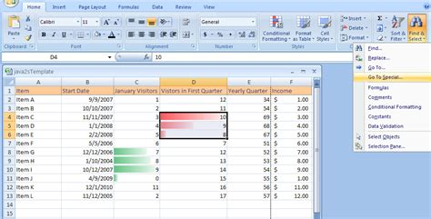 format microsoft excel 2007 find cells with conditional formatting find replace