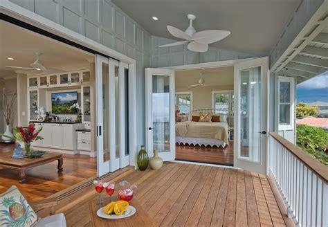 Inside Porch Doors Interior Sliding Doors Deck Tropical With