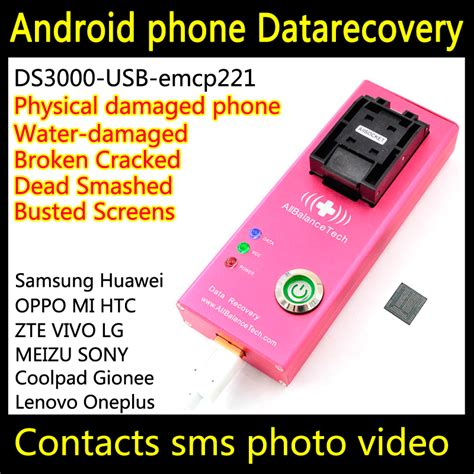 recover contacts from android phone data recovery dead android phone ds3000 usb3 0 emcp221 tool for vertu recover retrieve contacts